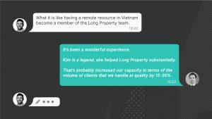 Outsourcing Customer Testimonial