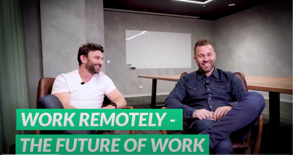 work remotely - future of work
